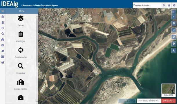 Algarve News über verbesserte Geodaten-Plattform