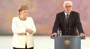 Algarve News zur Reaktion des portugiesischen Fernsehens auf Zittern der deutschen Bundeskanzlerin