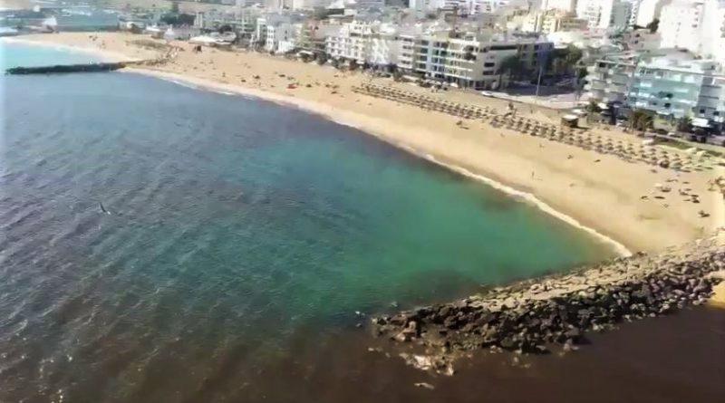 Mikroalgen verfärben Meer vor Teilen der Algarve-Küste rötlich