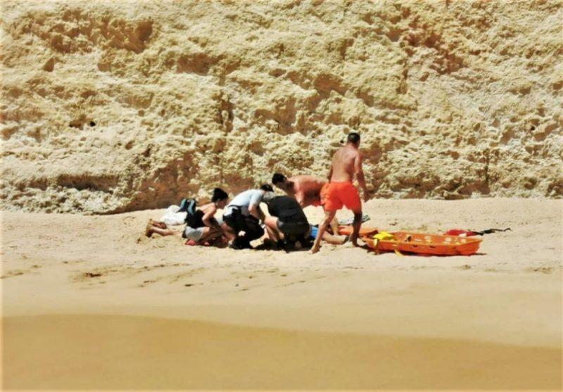 Algarve-Felsen brachten Kletterer aus Kanada in Lebensgefahr