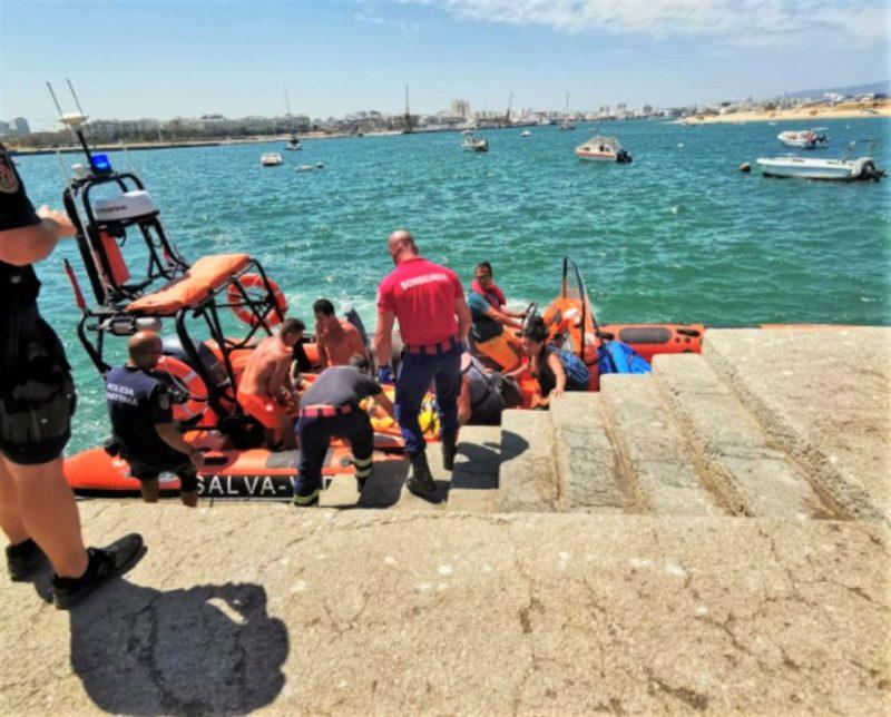 Algarve-Felsen sollten von unerfahrenen Kletterern wegen Unfallgefahr gemieden werden