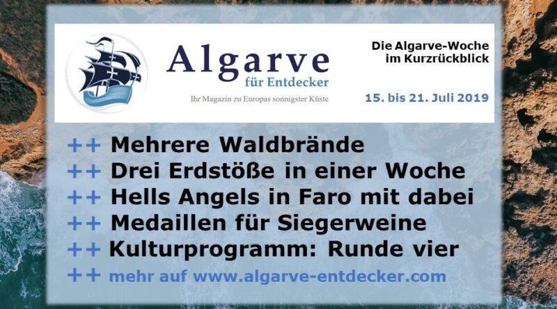 Algarve News und Portugals News aus KW 29 vom 15. bis 21. Juli 2019