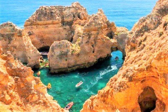 Algarve-Felsen können Kletterern gefährlich werden