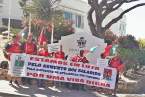 Algarve News über Streik im Vale do Lobo