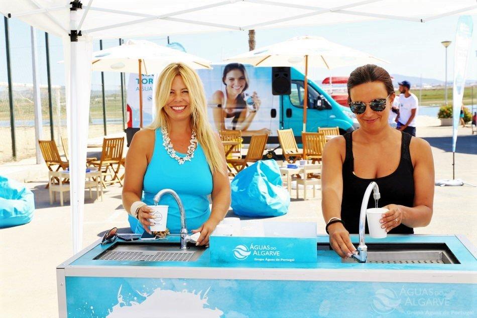 Wasser sparen wird bei einer Kampagne des Wasserversorgers der Algarve propagiert