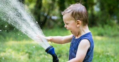 Wasser sparen müssen auch Kinder an der Algarve lernen