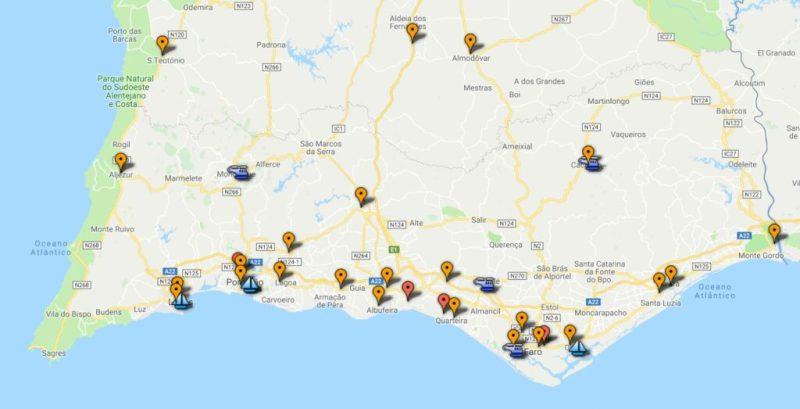 Algarve-Fahrer können bei einem Notfall-Netz von Tankstellen immer Kraftstoff bekommen