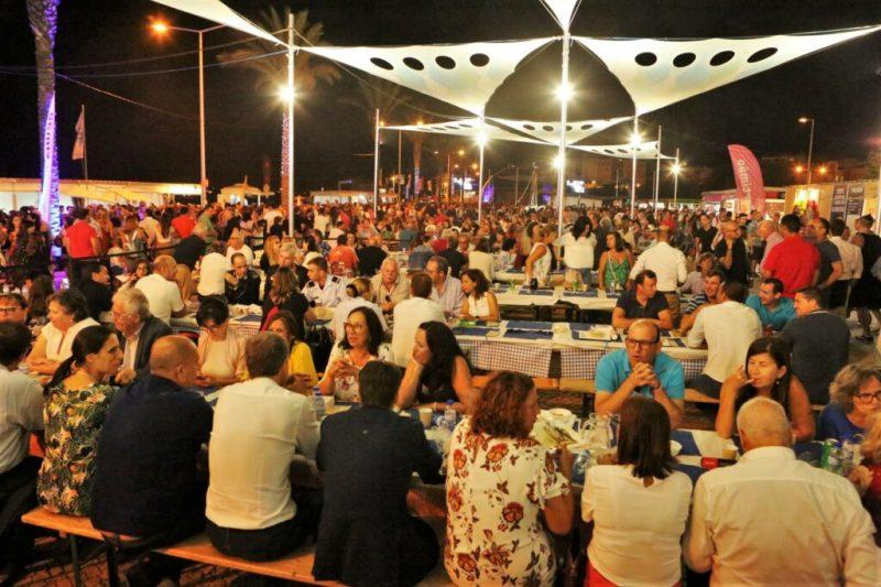 Algarve-Festivals zogen 2019 auch politische Prominenz an wie hier in Portimao