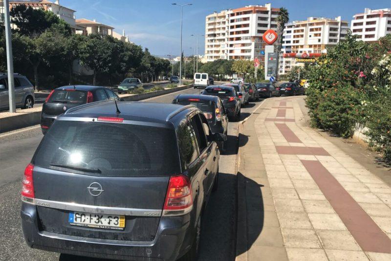 Algarve News zu Konsequenzen des Tankwagenfahrer-Streiks an der Algarve in Portimão