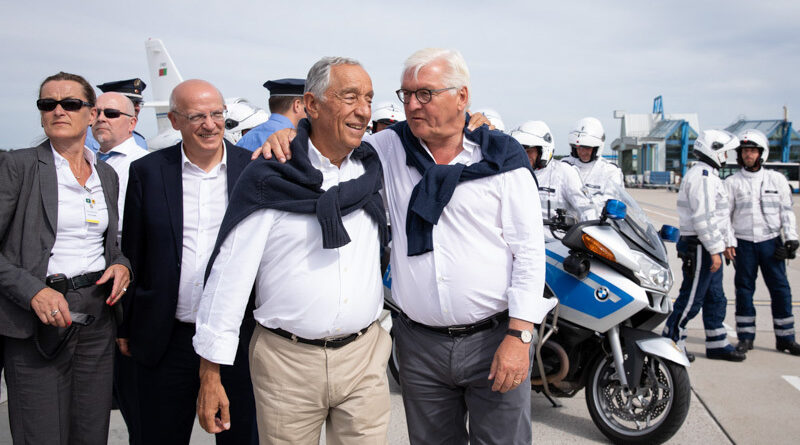 Marcelo Rebelo de Sousa tritt Frank-Walter Steinmeier