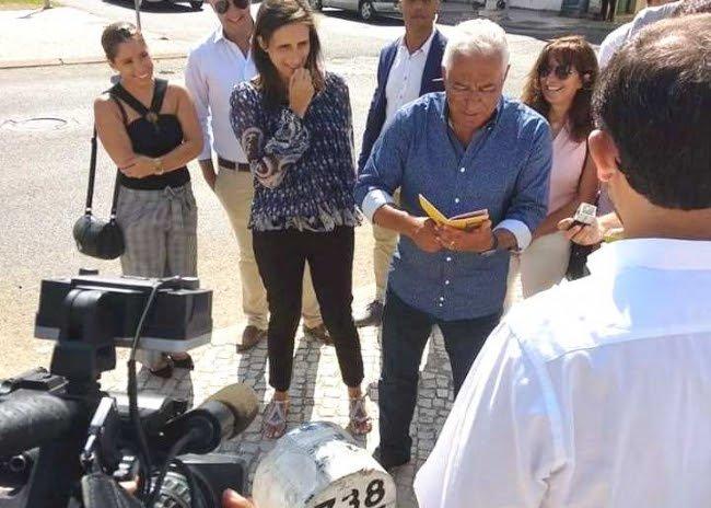 Algarve News zu Ministerpräsident Antonio Costa im Hinterland der Algarve