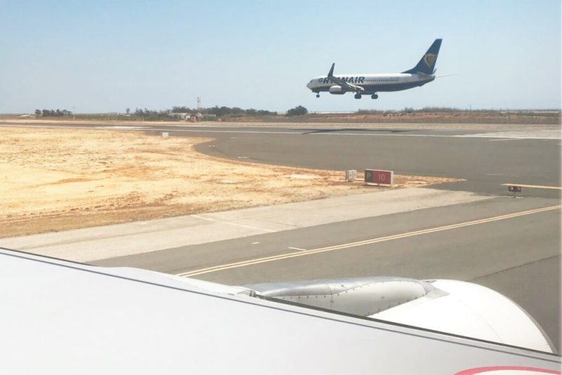 Faro-Basis von Ryanair weiter für Landungen und Starts genutzt im Algarve-Verkehr
