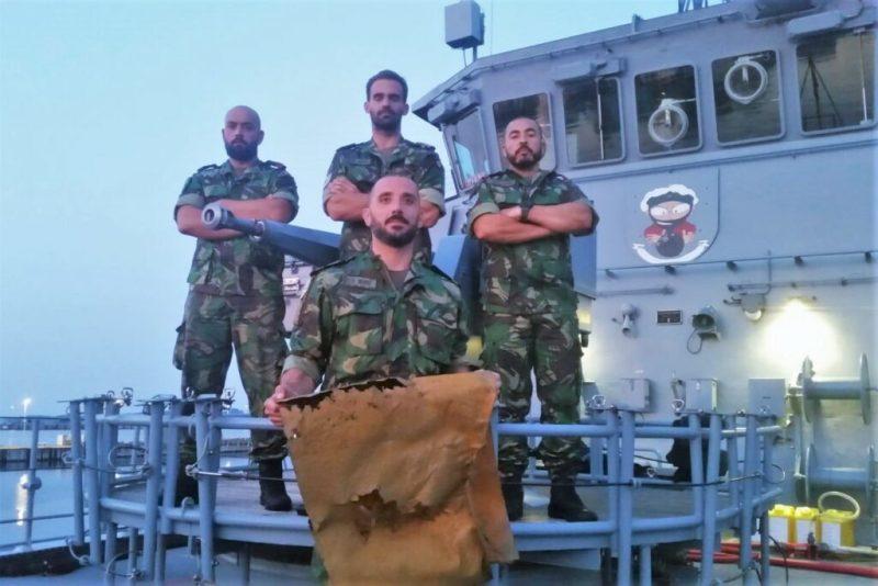 Minen in der Ostsee durch portugiesische Marinetaucher aus NATO-Verband entschärft
