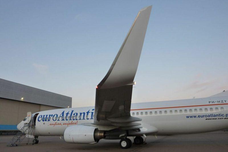 Thomas Cook-Touristen mit EuroAtlantic Airways nach Großbritannien geflogen