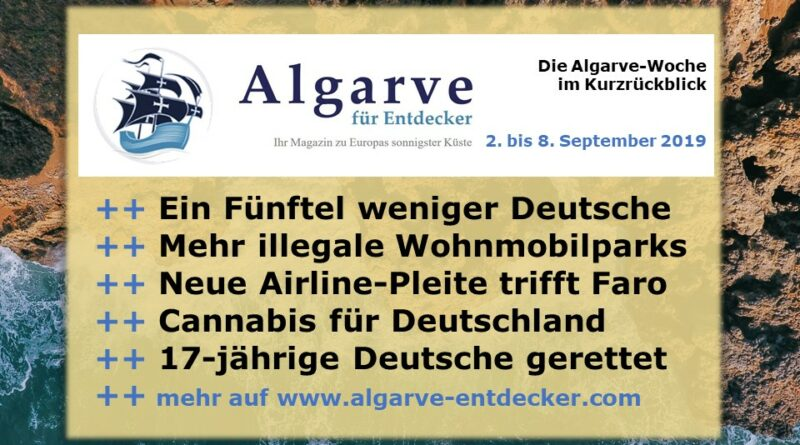 Algarve News und Portugal News aus KW 36 vom 2. bis 8. September 2019