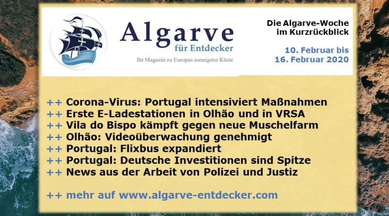 Algarve News: 10. bis 16. Februar 2020