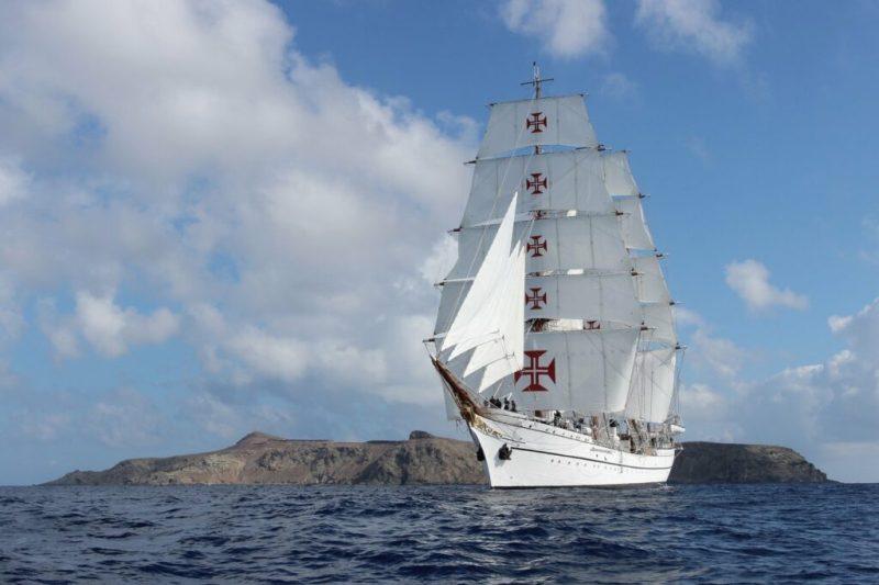 Covid-19-Pandemie lässt Segelschulschiff Sagres zurückkehren
