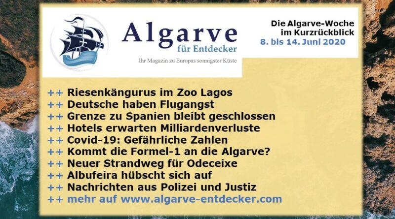 Algarve News: 08. bis 14. Juni 2020