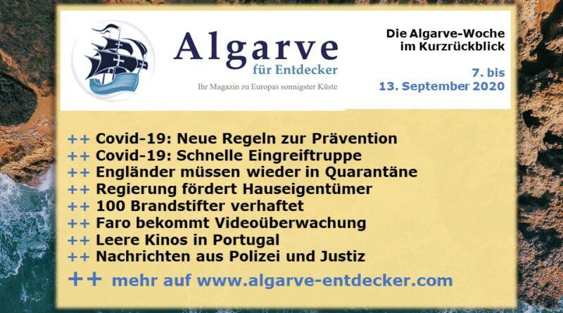 Algarve News: 7. bis 13. September 2020