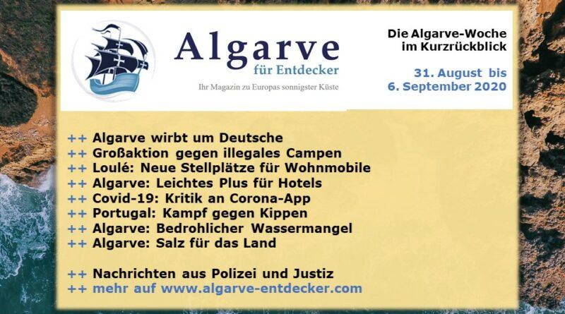 Algarve News: 31. August bis 6. September 2020