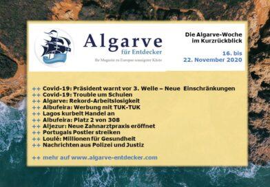 Algarve News: 16. bis 22. November 2020
