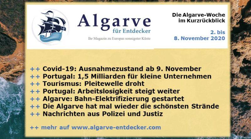 Algarve News: 02. bis 08. November 2020