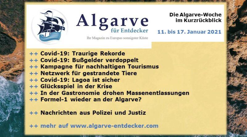 Algarve News: 11. bis 17. Januar 2021