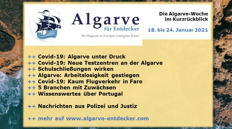 Algarve News: 18. bis 24. Januar 2021