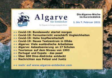 Algarve News: 01. bis 07. Februar 2021